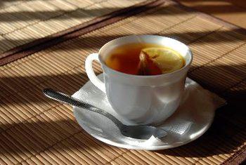 trà gừng làm ấm cơ thể