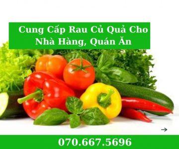 cung cấp rau sạch cho nhà hàng, quán ăn