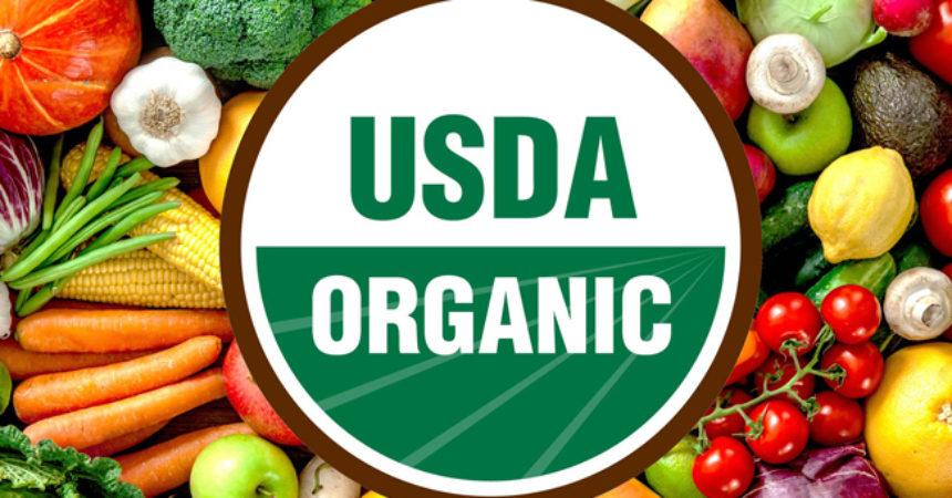 chứng nhận usda cho thực phẩm